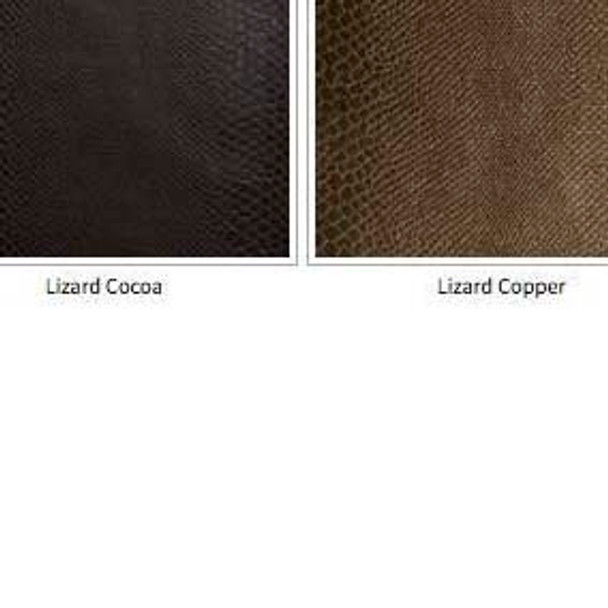 Image for Faux Lizard Reptile Skin Vinyl Fabric - Felt Backed - Cocoa, Black, Tan, Pearl At Fabric Warehouse