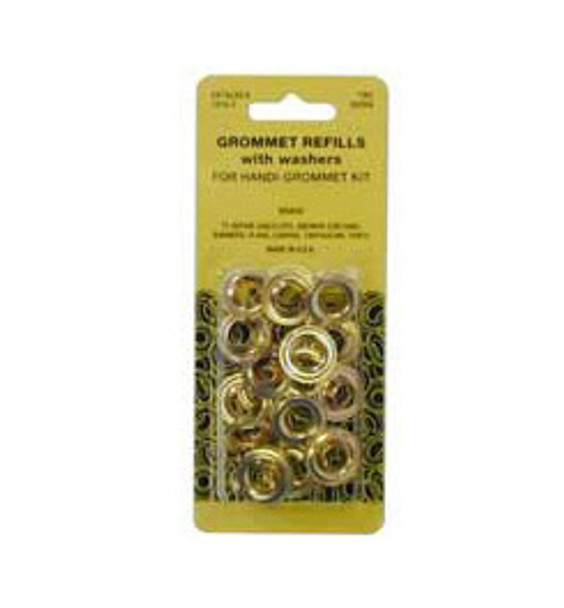 Image for Grommet Refills Brass #4 At Fabric Warehouse