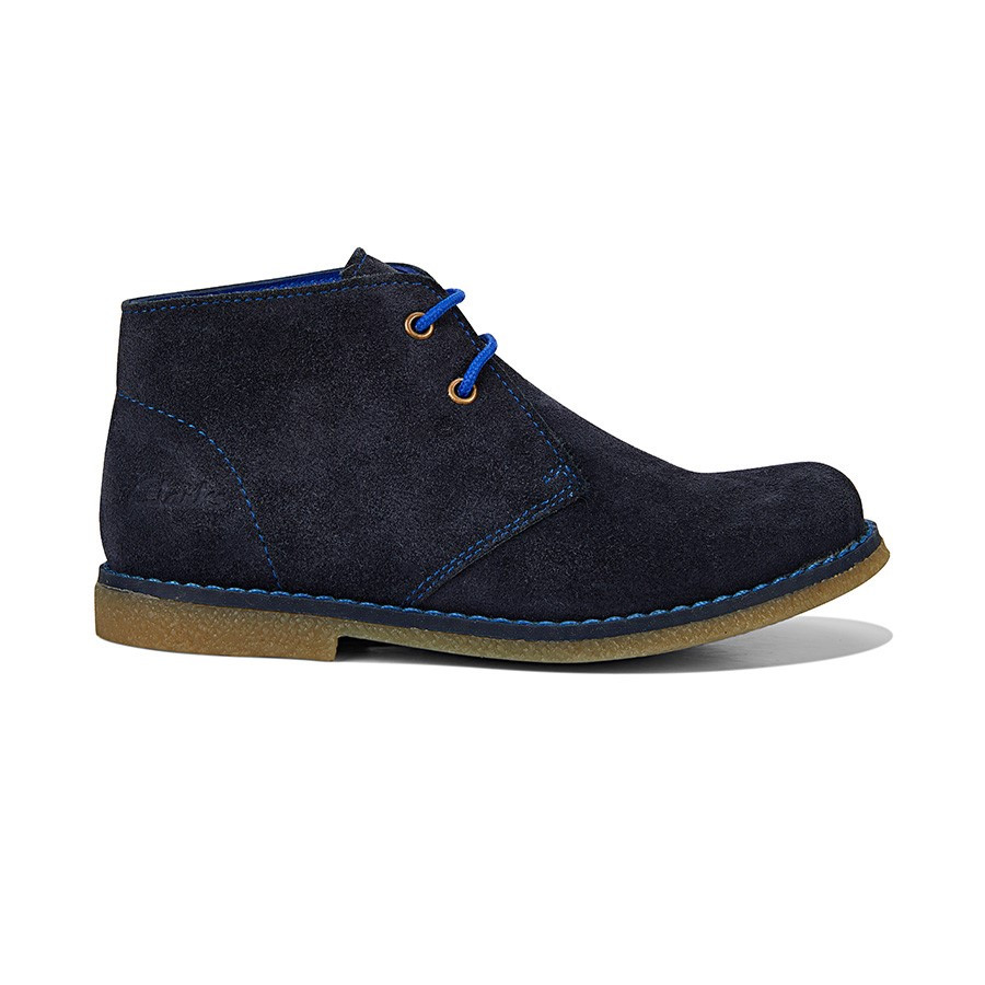 Carnaby Navy/Blue Suede