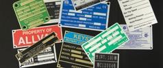 nameplates-dataplates