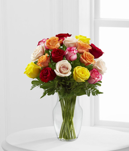 Enchanting Dozen Rose Bouquet
