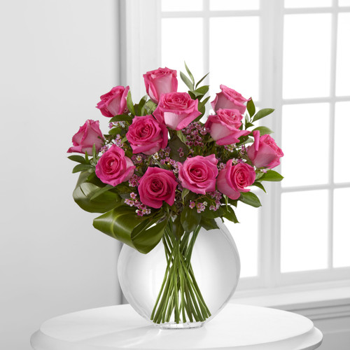 Blazing Beauty Dozen Rose Bouquet