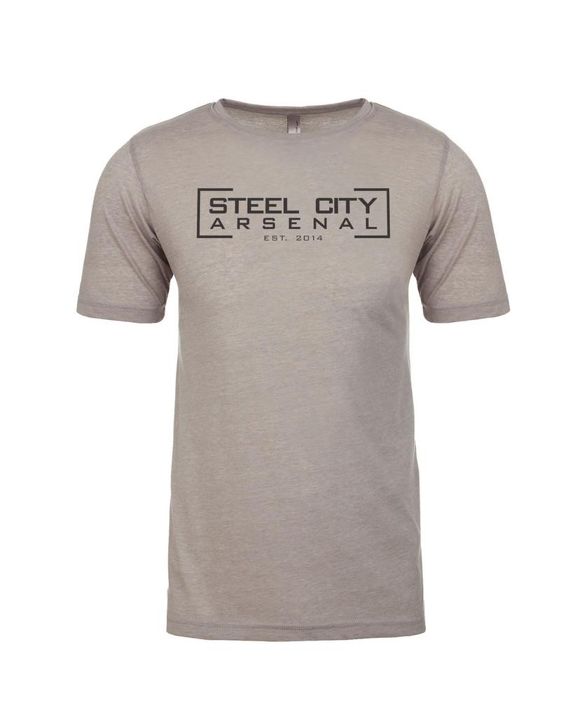 Steel City Arsenal T-Shirt Light Gray