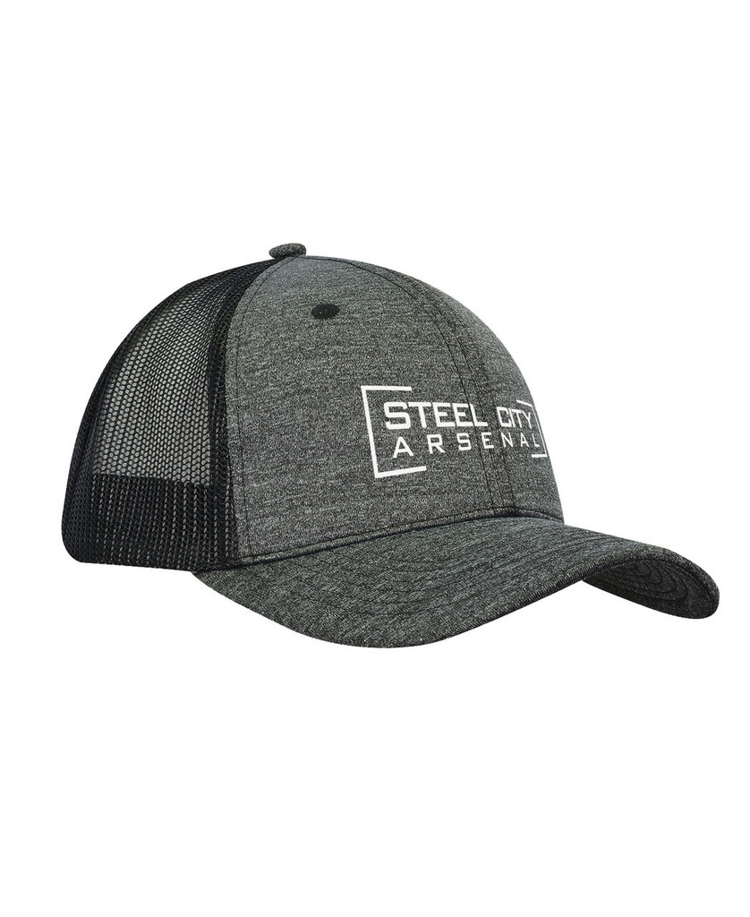 Steel City Arsenal Hat Heather Black