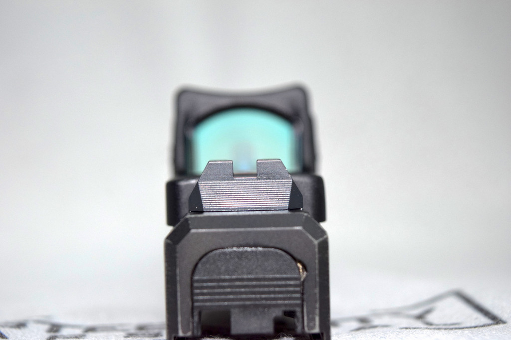 Red Mid Height Co Witness Sights