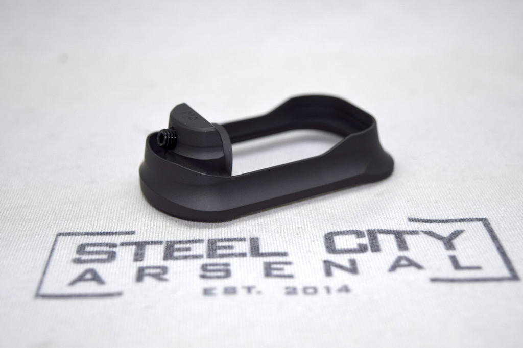 Steel City Arsenal Slim magwell for Polymer 80 PF940C Frames- Cerakote Armor Black