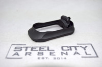 Steel City Arsenal Slim magwell Specifically for Polymer 80 PF940V2 Frames- Cerakote Armor Black