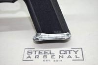 Steel City Arsenal Slim Magwell for Polymer 80 PF940V2 Full Size Frames Battleworn White