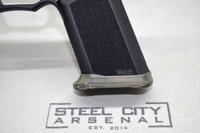 Steel City Arsenal Slim Magwell for Polymer 80 PF940V2 Full Size Frames Battleworn FDE