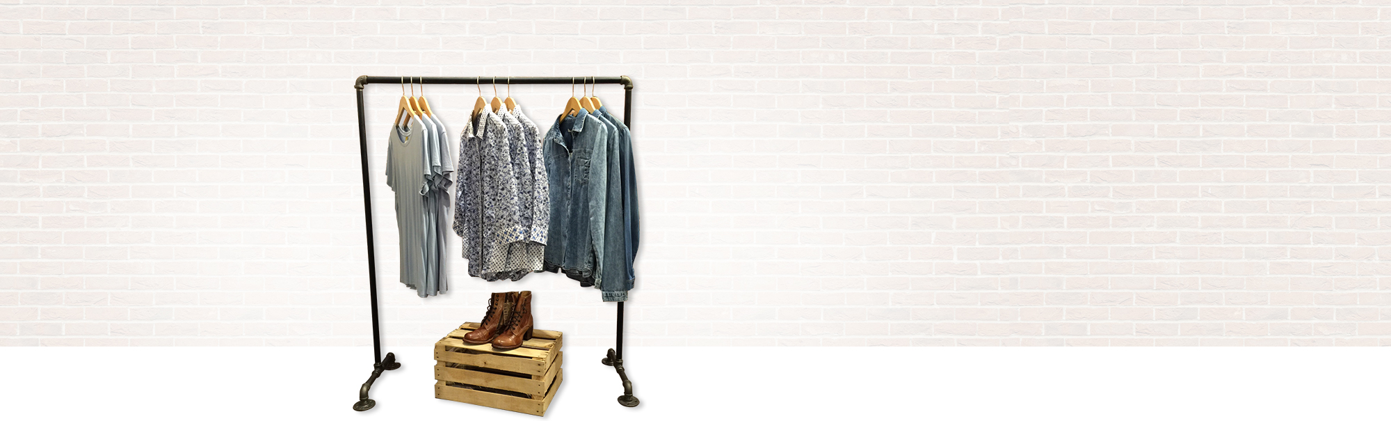 look rack clothing great boutique diy the racks foundation