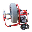 """DM138A sink machine by Duracable Manufacturing  with a 14"""" enclosed poly reel and 3/8"""" x 90' cable"""
