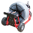 DM55 SPO Mainline Sewer Machine with pneumatic tires by Duracable Manufacturing