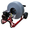 DM55 SPO Commercial Sewer Equipment with safety air foot pedal for easy operation