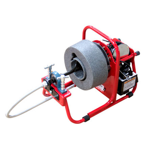 DM125 drain cleaning machine - front