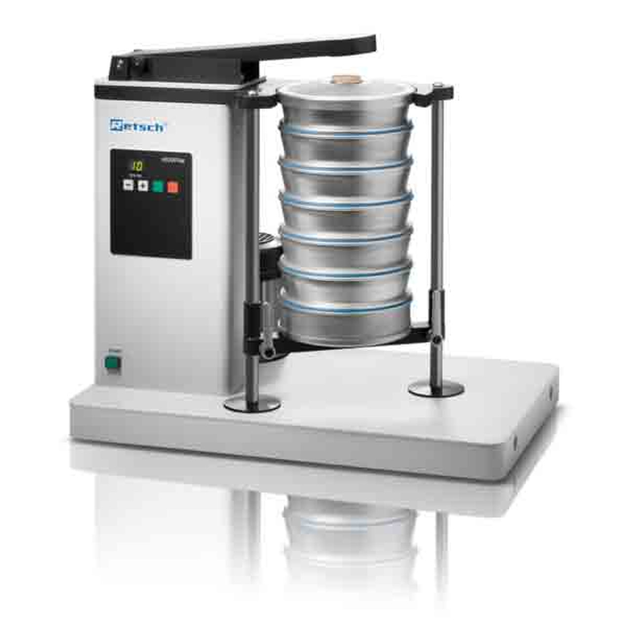 retsch as 200 tap 8 sieve shaker certified material testing products rh certifiedmtp com