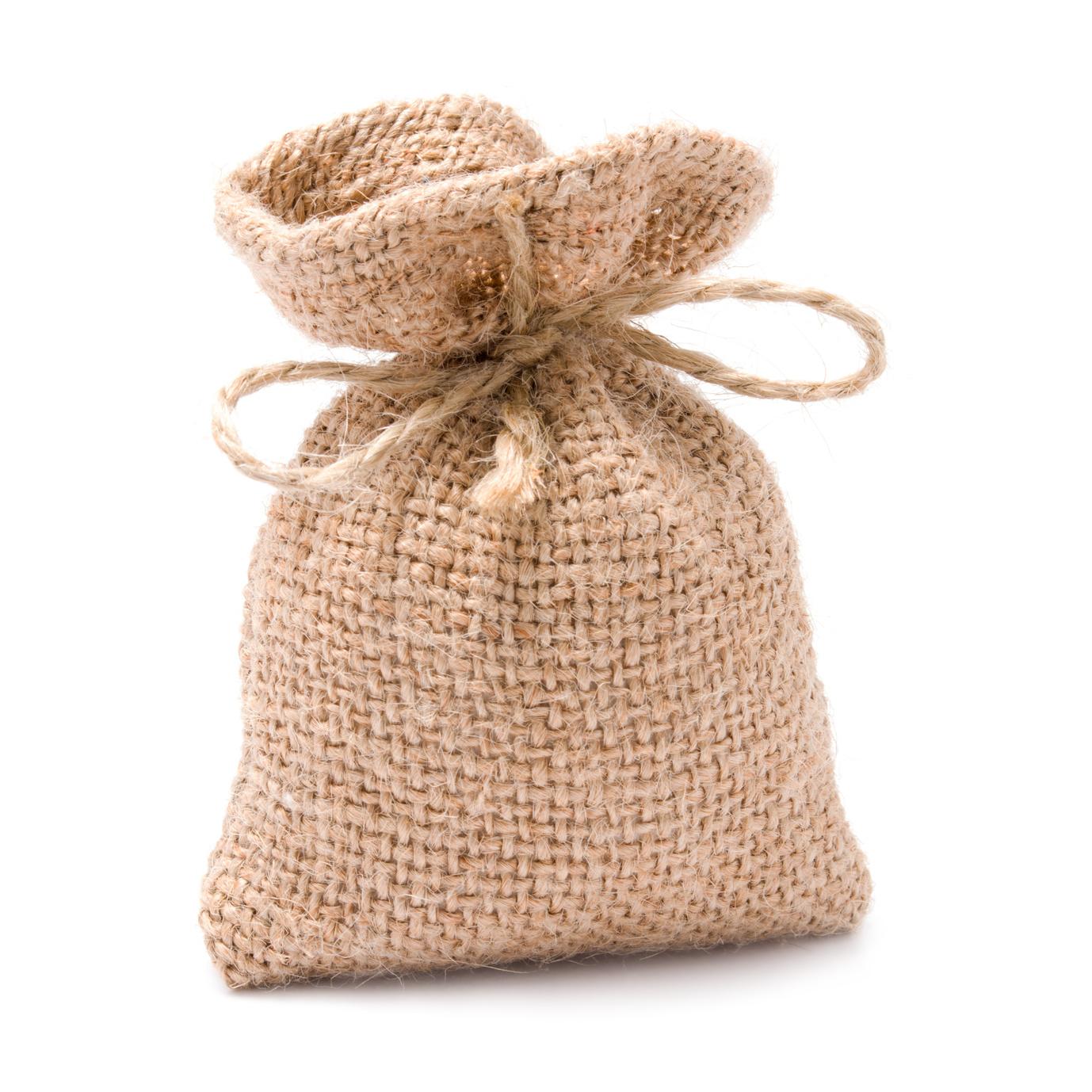 raw material burlap sac