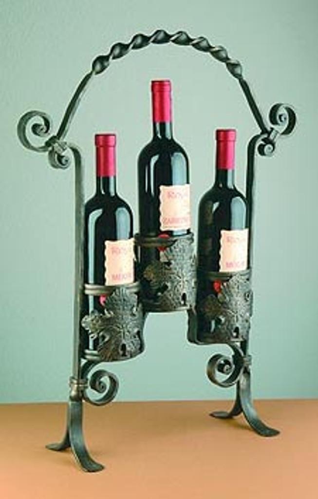 3 Bottle Vintage Display