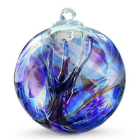 "Witch Ball ""Chaos Iris"" Iridized"