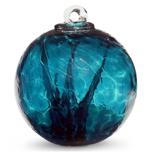 Small Witch Ball Sea Green