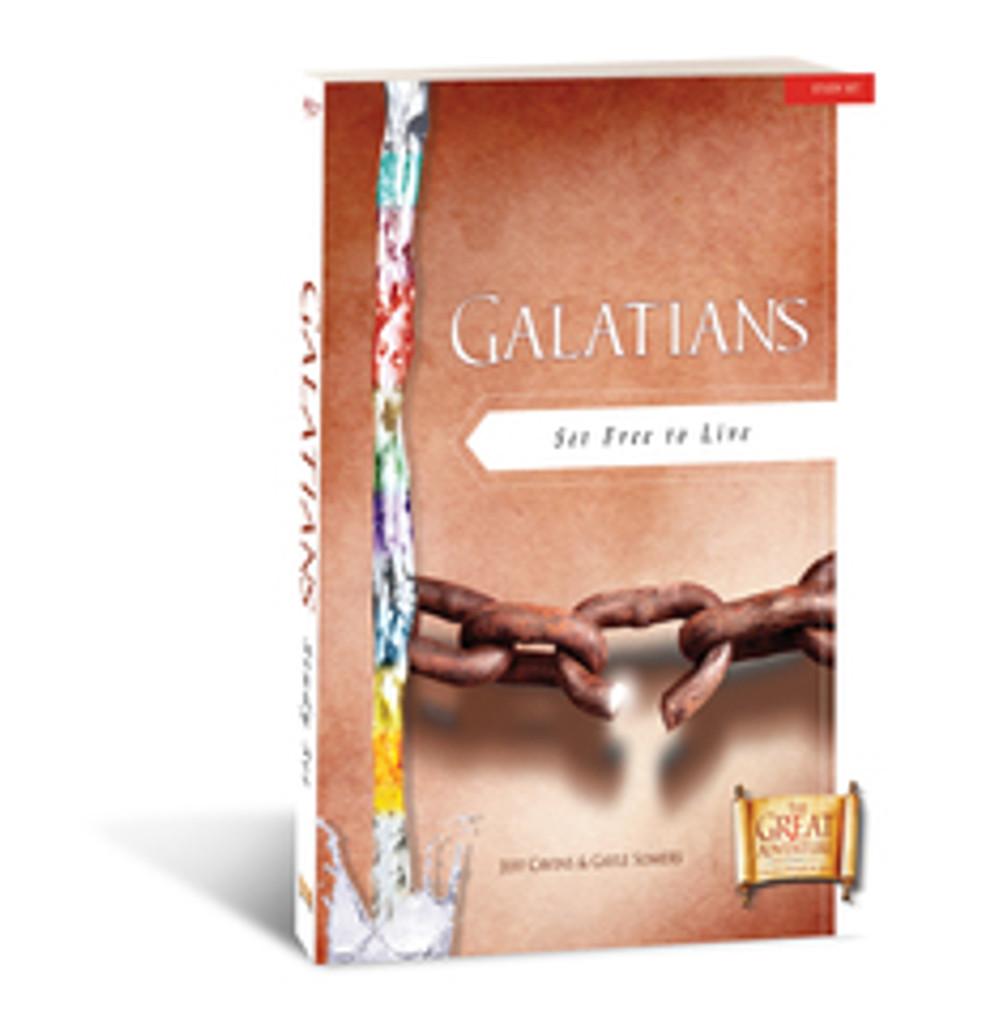 Galatians: Set Free to Live - Jeff Cavins & Gayle Somers - Ascension Press (Study Set)