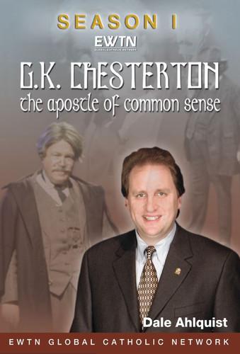 G.K. Chesterton: the Apostle of Common Sense - Dale Ahlquist - EWTN (4 DVD Set)