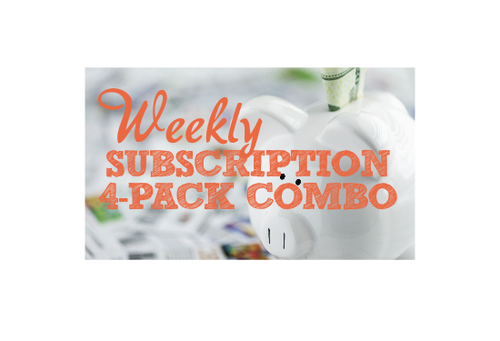 Weekly Subscription - 4 Pack Combo
