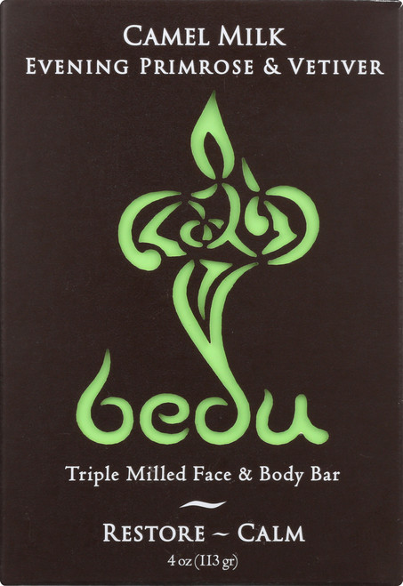 Camel Milk Face & Body Bar Evening Primrose & Vetiver