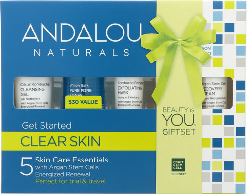 5 Skin Care Essential Get Started Kit Clarifying Clear Skin