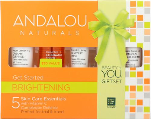 5 Skin Care Essential Get Started Kit Brightening