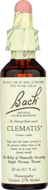 Original Flower Remedy Clematis