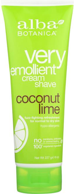 Cream Shave Coconut Lime Alba Crm Shv Coconut Lime
