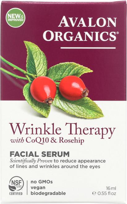 Serum Facial Wrinkle Therapy Og Coq10 Wrinkle Def Serum  .55Oz