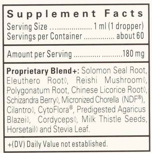 Ndf Focus® Liquid Herbal Drops-Ndf-Focus Gentle Herbal Detox Formula For Kids-Citrus 60 Ml 2 Fl oz