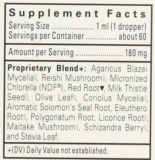 Ndf Calm® Liquid Herbal Drops-Ndf-Calm Gentle Herbal Detox Formula For Kids-Vanilla 60 Ml 2 Fl oz