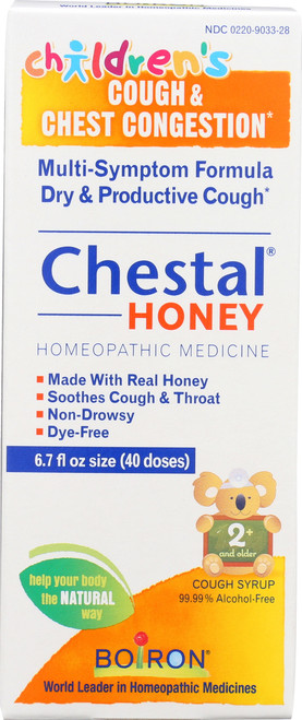 Chestal® Honey Cough Syrup Children'S Cough & Chest Congestion*