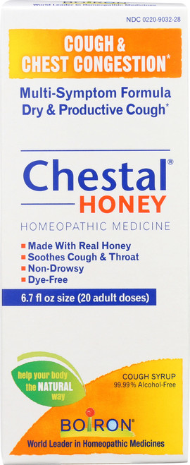 Cough Syrup Chestal Honey