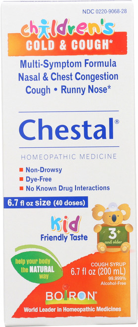 Cough Syrup Chestal