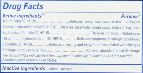 Children's Sabadil Pellets Allergy Relief* 2 Tubes