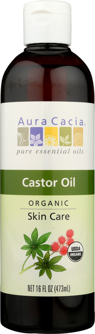 Castor Oil Certified Organic Skin Care Oil