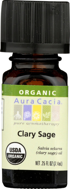Clary Sage Certified Organic Essential Oil