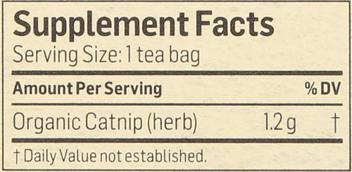 Tea Catnip Herbal Supplement 24 Tea Bag 1.02 Ounce