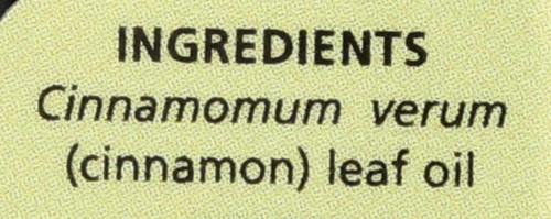 Cinnamon Leaf Essential Oil Cinnamon Leaf Revitalizing 0.5 Fl oz 15 Ml