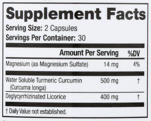Dietary Supplement Gastrointestinal Balance 60 Capsules