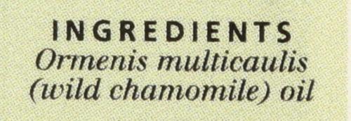Chamomile, Wild, Essential Oil Wild Chamomile Calming 0.5 Fl oz 15 Ml