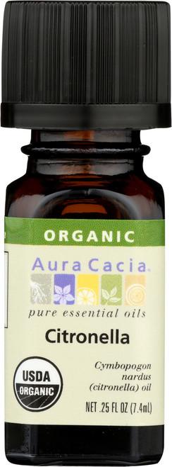 Citronella Certified Organic Essential Oil