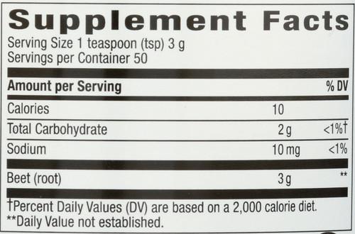 Beet Root Powder General Health  5oz 150 G