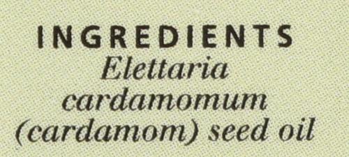 Cardamom Essential Oil  0.5 Fl oz 15 Ml