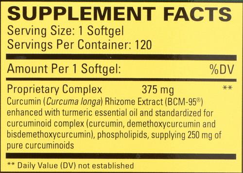 Curamed® 375 Mg 120 Softgels