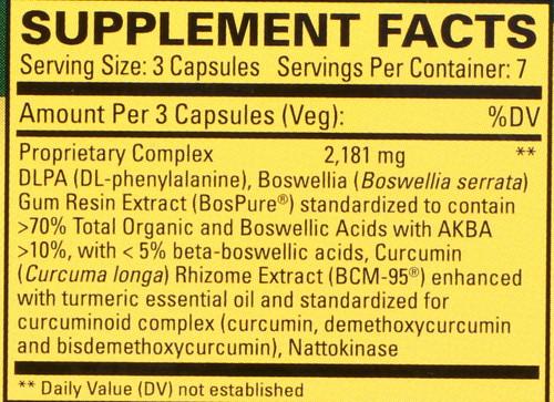 Curamin® 21 Capsules