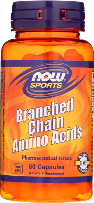 Branched Chain Amino Acids - 60 Capsules